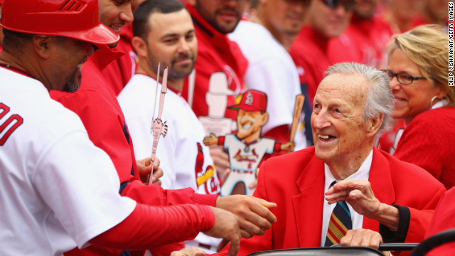 Baseball Hall of Famer and St. Louis Cardinals great <a href='http://www.cnn.com/2013/01/19/sport/missouri-musial-obit/'>Stan Musial</a> died on January 19, according to his former team. He was 92.