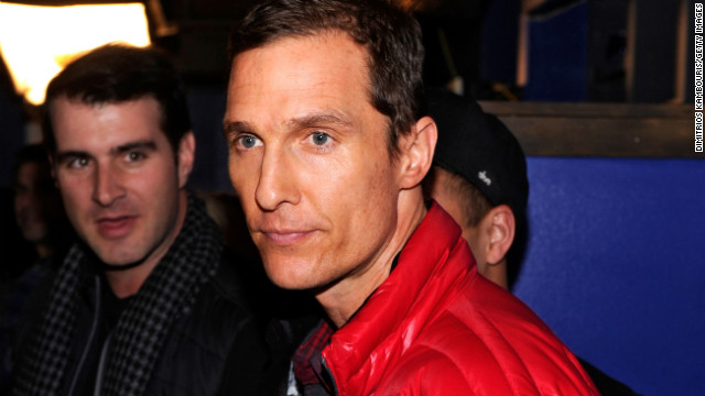 "Winner: Matthew McConaughey was praised for his work in two 2013 films, ""Mud"" and ""Dallas Buyers Club."""