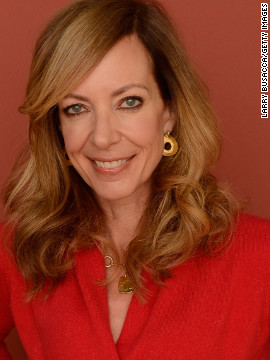 &quot;Touchy Feely&quot; star Allison Janney at Village at the Lift.