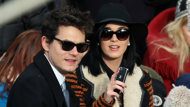 John Mayer is 'quite happy' with Katy Perry
