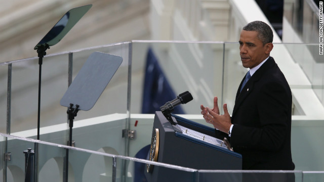 Obama: 'It is now our generation's task to carry on what ... pioneers began'