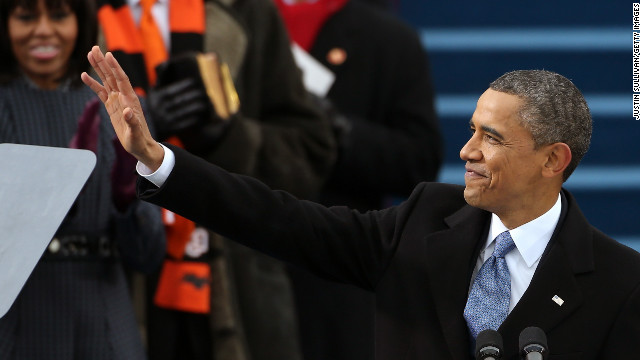 Obama embraces key social justice movements in inaugural address
