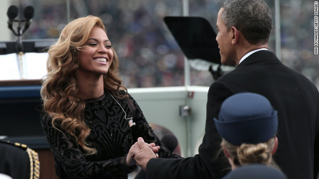 U.S. Marine Band: Beyoncé 'did not actually sing' during inaugural