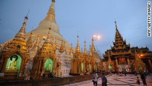 The magnificent treasures of Myanmar