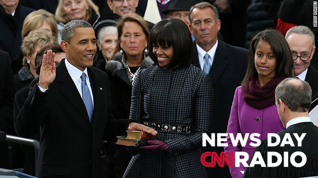 CNN Radio News Day: January 21, 2013