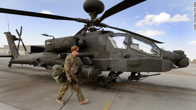 El príncipe Enrique revela que mató a insurgentes talibanes en Afganistán