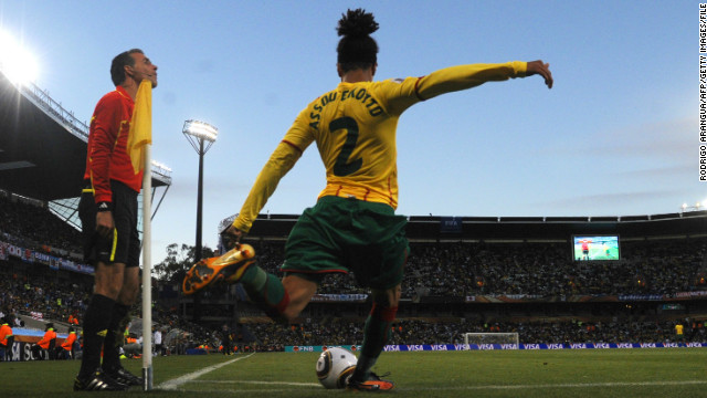 Born in France to a Cameroonian father and French mother, Assou-Ekotto opted to represent Cameroon in football.