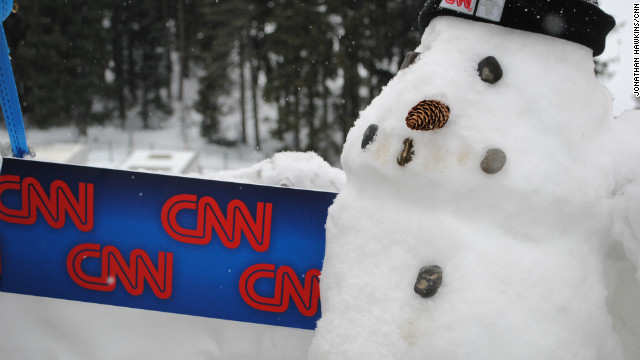 Meanwhile, the CNN crew is getting ready to bring you the most interesting coverage live from Davos.