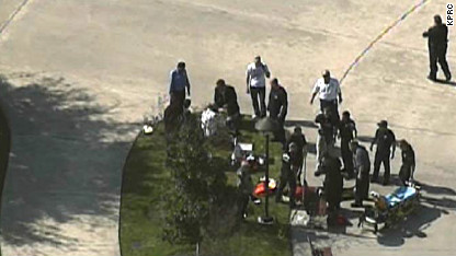 Gunman reported at Houston college