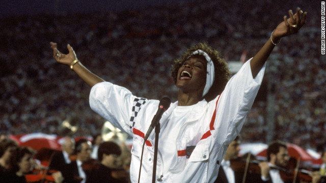 "Whitney Houston is believed to have lip-synced her impressive rendition of ""The Star-Spangled Banner"" at the 1991 Super Bowl. Her spokesperson at the time <a href='http://blogs.wsj.com/speakeasy/2012/02/14/does-it-matter-if-whitney-houstons-star-spangled-banner-was-lip-synched/' target='_blank'>said she was singing</a>, but her mic was turned off so viewers heard a prerecorded track."