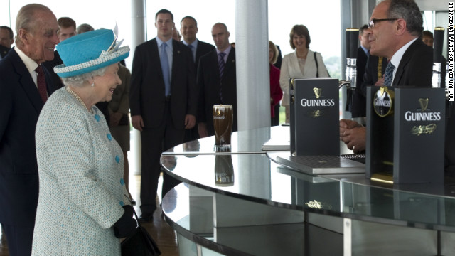 Even England's Queen Elizabeth can't stay away from the Guinness Storehouse, Ireland's top tourist attraction.