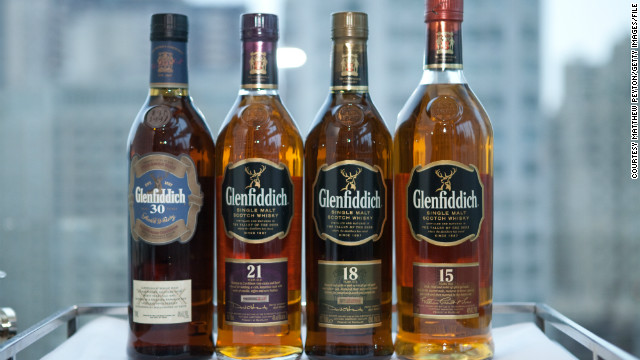 Glenfiddich is the world's most awarded single-malt Scotch whisky. 