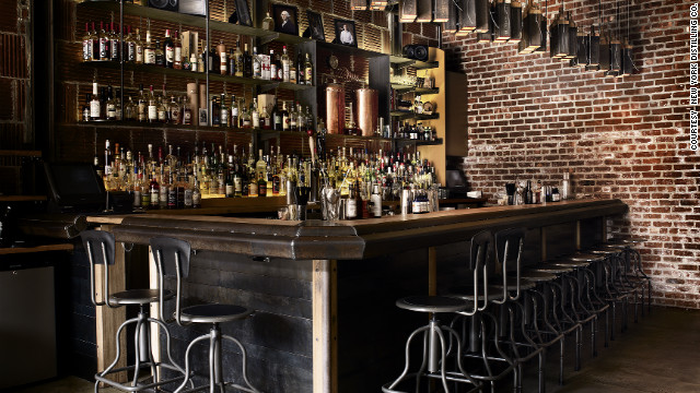 The New York Distilling Company's tour is quick and informal, but the the attached bar is a big hit in the hipster Williamsburg neighborhood in Brooklyn.