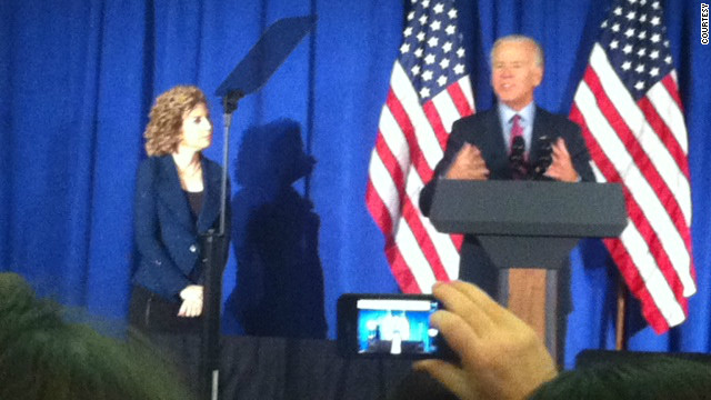 Biden's moves spark talk of a 2016 presidential bid