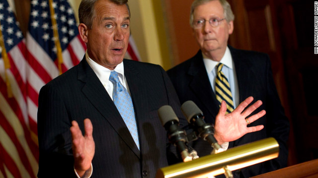 John Boehner, left, and Mitch McConnell in 2012. We can't just blame the Republican leadership, says William Bennett. 
