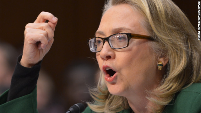 Clinton in the hot seat on Benghazi