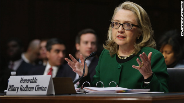 Hillary Clinton asume la responsabilidad por ataque terrorista en Bengasi