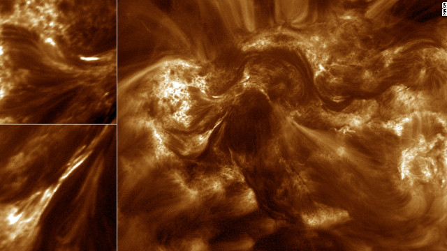 'Braids' may heat sun's corona, study says