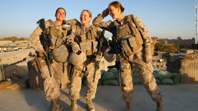 Former troops say time has come for women in combat units