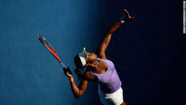 Playing in her first Grand Slam quarterfinal, Stephens came from one set down Wednesday to overcome third seed Williams, who suffered a back injury after having already rolled an ankle earlier in the tournament.