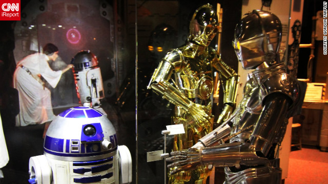 "In a galaxy not so far, far away, fans can delight in the exhibition, '<a href='http://www.osc.org/index.php?option=com_content&view=category&id=117&layout=blog&Itemid=181' target='_blank'>Star Wars: Where Science Meets Imagination</a>' at the Orlando Science Center. The exhibit features hundreds of artifacts from the films and explores the science behind Star Wars. ""It's pretty amazing to see some of these props that were in some of the most iconic scenes in movie history,"" said iReporter Gordon Tarpley. <!-- --> </br><a href='http://ireport.cnn.com/docs/DOC-865372' target='_blank'>Travel lightspeed to more photos on his iReport</a>."