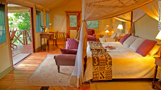 Once reserved for royalty and the very wealthy, luxury accommodations are now part of the safari experience for many travelers. Kent has helped bring such niceties as champagne and caviar to the bush.