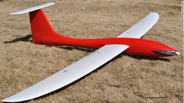 The &quot;aerial ranger&quot; -- which was developed by U.S.-based firm Unmanned Innovation Inc. -- is expected to cover an area of 50 miles over a 90-minute flight.