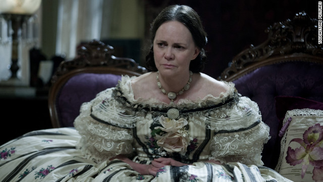But wouldn't it be extraordinary if someone who actually had more screen time in her own film could be an upset in this category? Field played a character (Mary Todd Lincoln) who knew that history might regard her as unlikeable. Wouldn't it be something if it turned out Oscar liked her, really liked her?