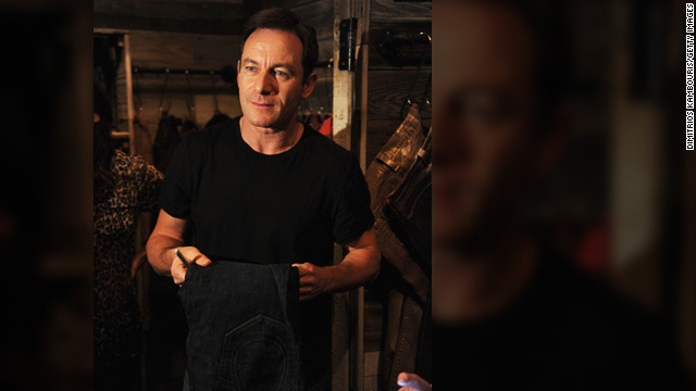 Actor Jason Isaacs says he always feels a little guilty taking gifts at festivals.