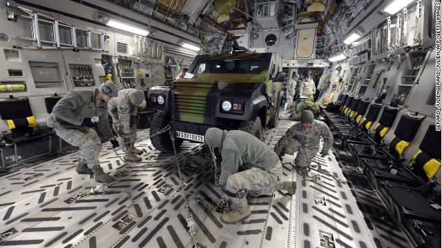 U.S. Air Force has flown 7 Mali cargo missions