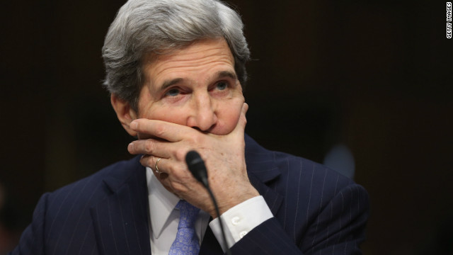 Kerry defends fellow Cabinet nominee Hagel
