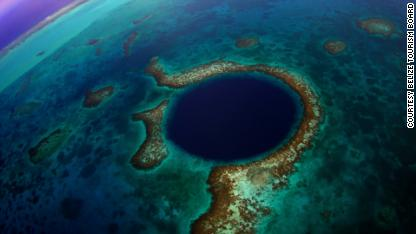 'Blue Hole' clue to Maya demise