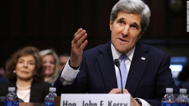 El senado de EE.UU. confirma a John Kerry como Secretario de Estado