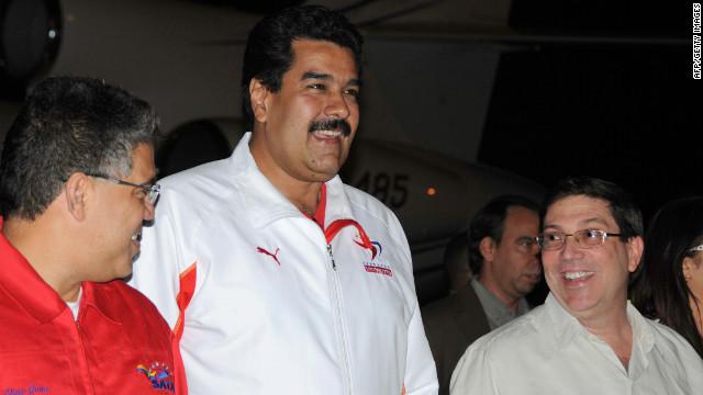 """Chávez se encuentra """"en el mejor momento"""" hasta ahora, dice Maduro"""