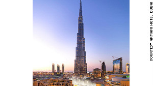 Armani Hotel Dubai -- high fashion in the world\'s highest building.