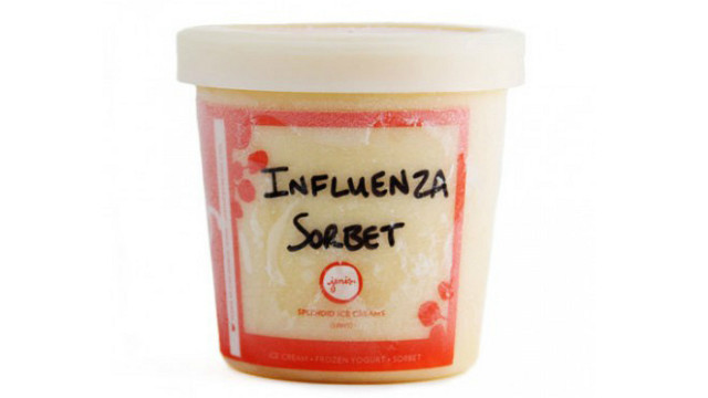 Jeni's Splendid Ice Creams is extending production hours to meet demand for its influenza sorbet.