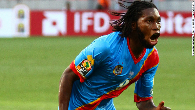 Anderlecht have a number of Congolese players in their squad and the Brussels club's forward Dieumerci Mbokani was recently elected Belgium's player of the year.