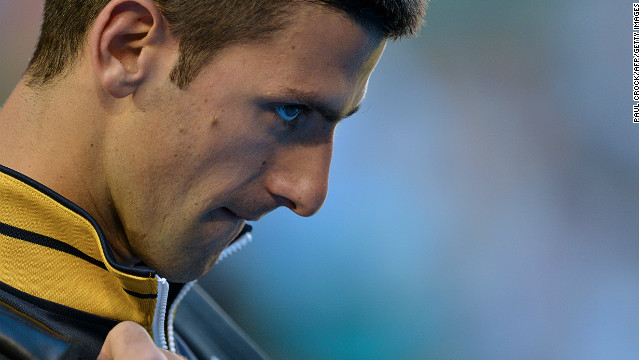 By beating Briton Andy Murray in Sunday's final in Melbourne, Novak Djokovic became the first player in the Open era to win three consecutive Australian Open titles.