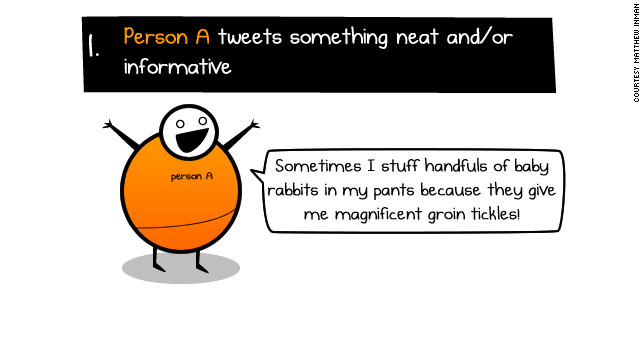 He also explains &lt;a href='http://theoatmeal.com/comics/follow_friday' target='_blank'&gt;&quot;How #FollowFriday is &lt;i&gt;supposed&lt;/i&gt; to work.&quot;&lt;/a&gt;