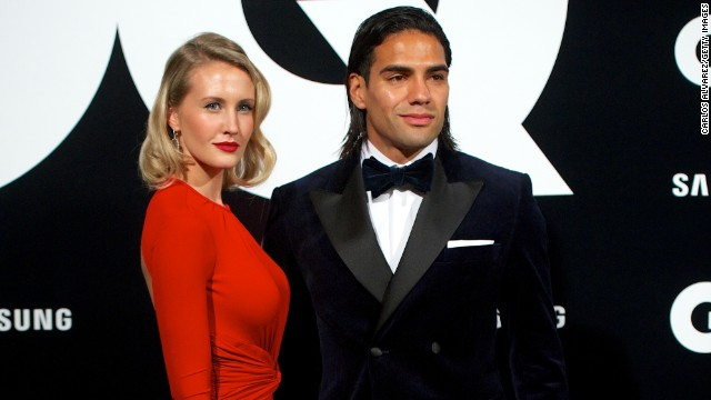 Falcao and his singer songwriter wife Lorelei Taron are in the celebrity spotlight. It's a role that the striker has had to grow accustomed to since becoming a worldwide phenomenon.