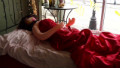 Blow-up doll causes a stir