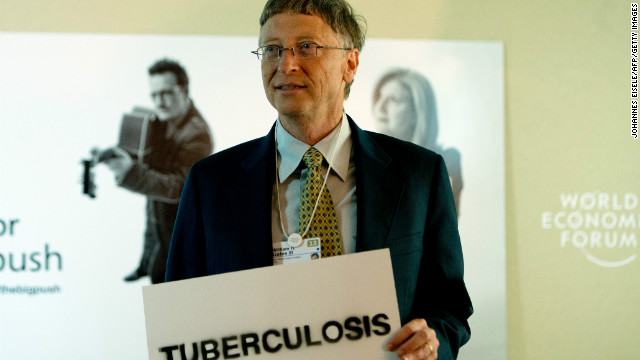 Microsoft co-founder turned global philanthropist Bill Gates was in town to promote the Global Fund against HIV/Aids, Tuberculosis and Malaria campaign.