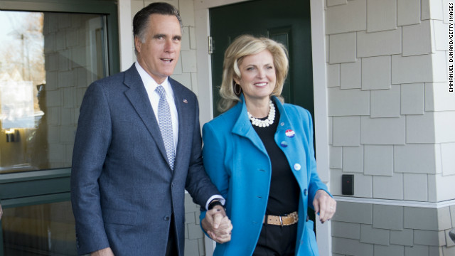 Mitt and Ann Romney in D.C. for 'social visit'
