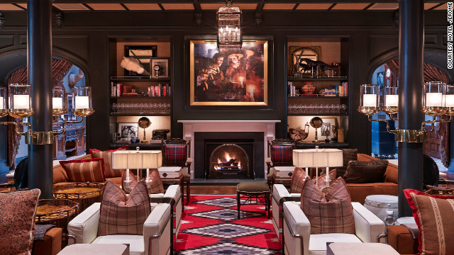 The Hotel Jerome just underwent a renovation by Auberge Resorts and is back on the scene in Aspen.