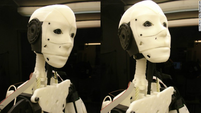 Using mircrocontrollers like Arduino and a basic programming language, the assembled robot can respond to voice-activated instructions -- moving its head and arms accordingly.