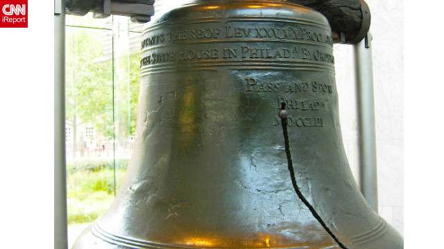 Man charged in alleged threat to blow up Liberty Bell