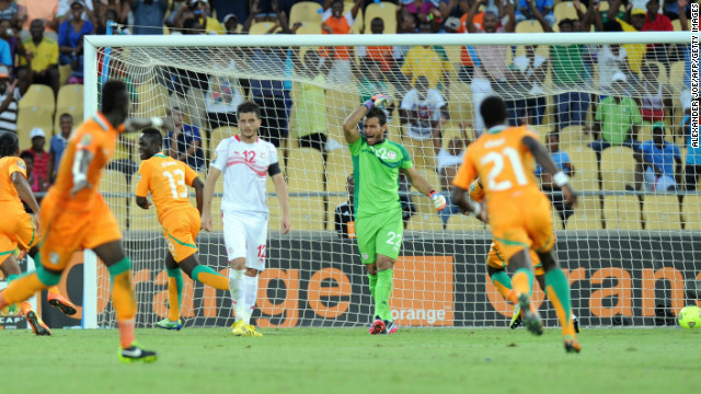 Another substitute, Didier Ya Konan (No. 13) sealed the Ivorians' second successive win with the third goal at Royal Bafokeng Stadium.