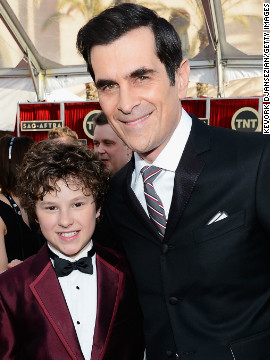  &quot;Modern Family's&quot; Nolan Gould, Ty Burrell