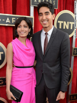 Freida Pinto, Dev Patel