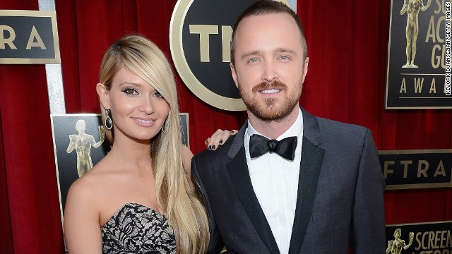 Aaron Paul ties the knot in Malibu